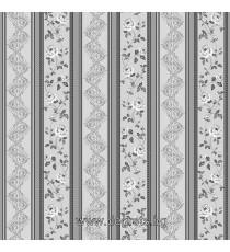 Тапет дуплекс Валс-Версаче сив-сребро