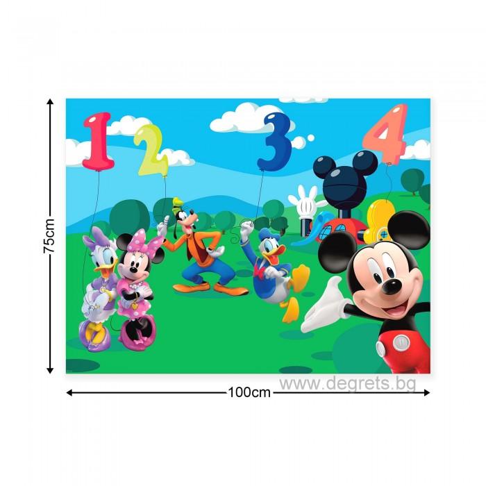 Картина Канава Мики Маус и приятели