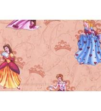 Тапет хартиен Принцеси бежов