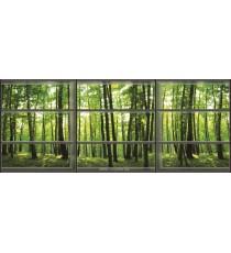 Фототапет флис Поглед към гората 3D панорама XXL