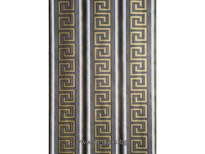 Тапет хaртиен Версаче черен-злато