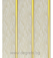 PVC ламперия Злато Дъжд