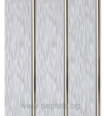 PVC ламперия Сребро Дъжд
