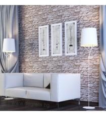 PVC ламперия Камък валун 3D ефект