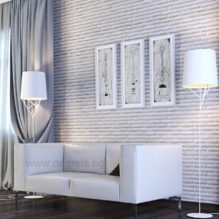 PVC ламперия Тухла 3D ефект