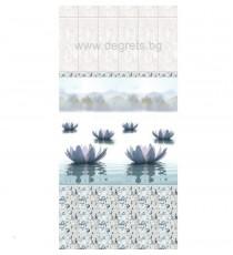 PVC ламперия Езеро Пелам шарка 1 3D ефект