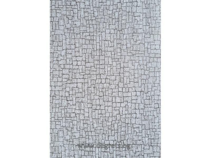 Тапет хартиен Лина фон сив