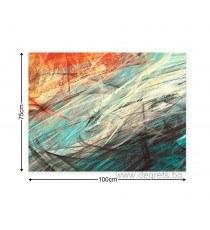 Картина Канава Абстракция 3 3D L
