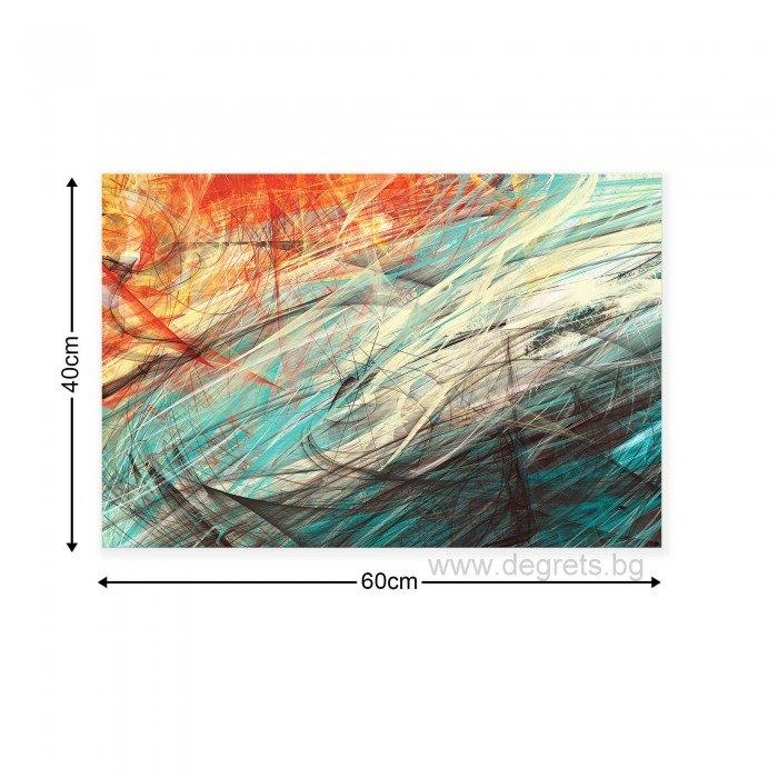 Картина Канава Абстракция 3 3D S