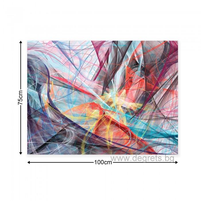 Картина Канава Абстракция 1 3D