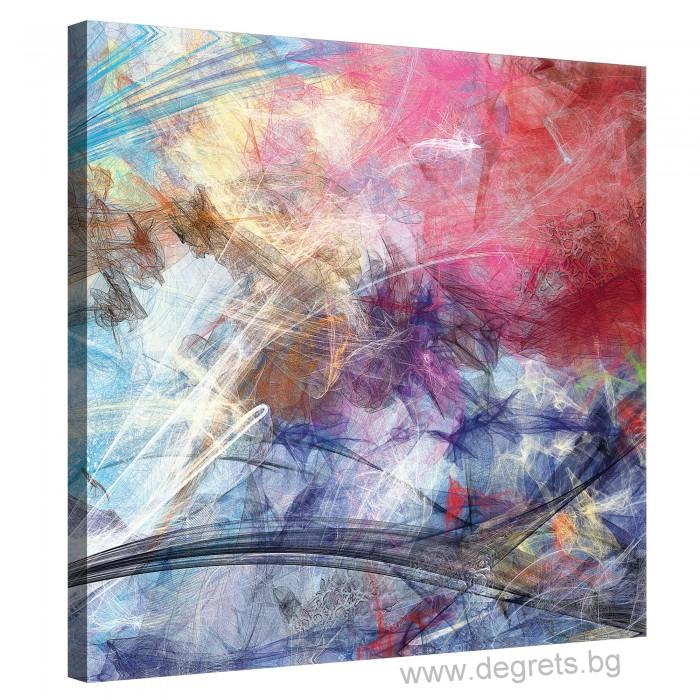 Картина Канава Цветна графика 1 М