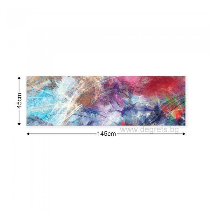 Картина Канава Цветна графика 1 XL