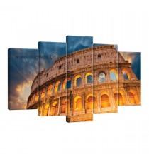 Картина Канава Колизеумът в Рим Сет 5 части