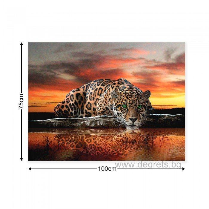 Картина Канава Леопард 2 L