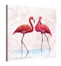 Картина Канава Фламинго 1
