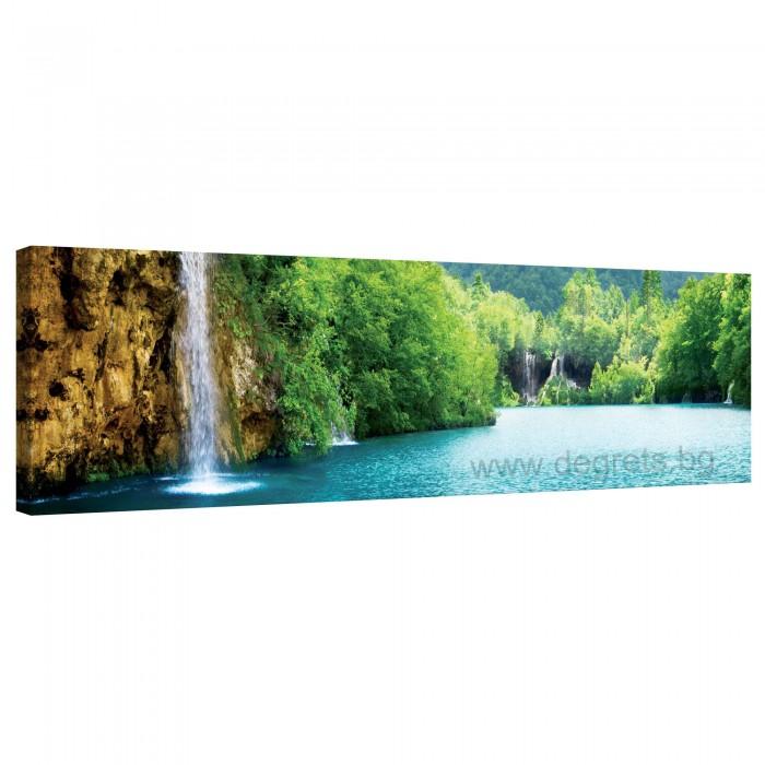 Картина Канава Водопад при езерото XL
