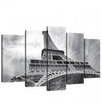 Картина Канава Айфелова кула 4 Сет 5 части