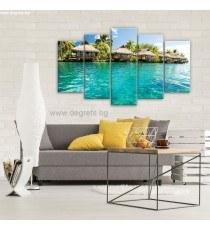 Картина Канава Кариби Сет 5 части