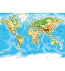 Фототапет Карта на света 3
