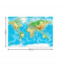 Картина Канава Карта на света 1