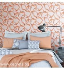Тапет винил Мая 3D оранжев