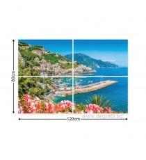 Картина Канава Райска гледка Сет 4 части