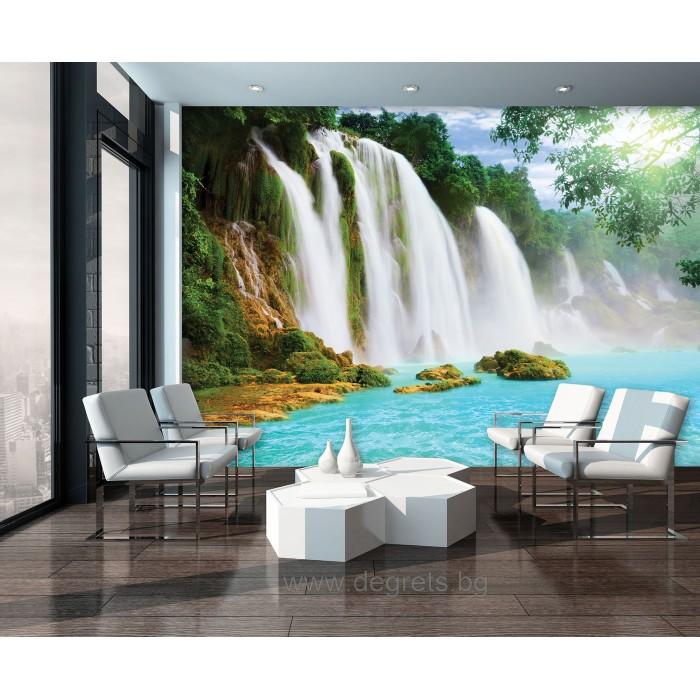 Фототапет Райски водопад 2 3D XL