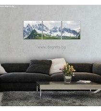 Картина Канава Алпи Сет 3 части