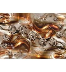 Картина Канава Оранжев диамант 3D