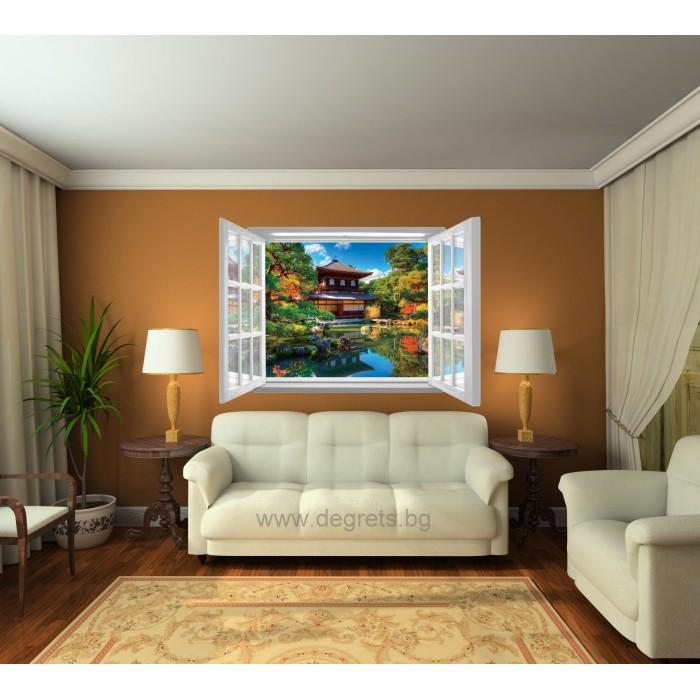Фототапет флис Тайланд 3D прозорец