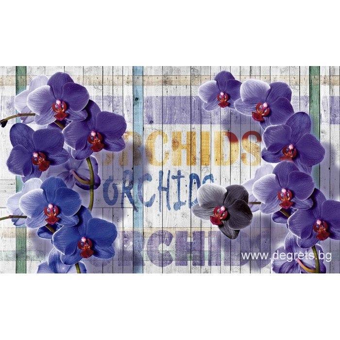 Фототапет Лилава орхидея