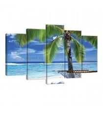 Картина Канава Под палмата Сет 5 части