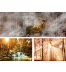 Картина Канава Горска приказка Сет 3 части