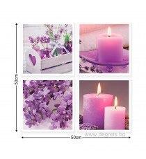 Картина Канава Ароматни свещи Сет 4 части