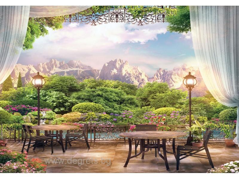 Фототапет Панорамна гледка 3 3D