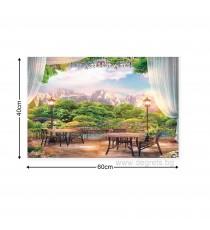 Картина Канава Панорамна гледка 1 3D