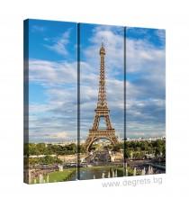 Картина Канава Айфелова кула 2 Сет 3 части