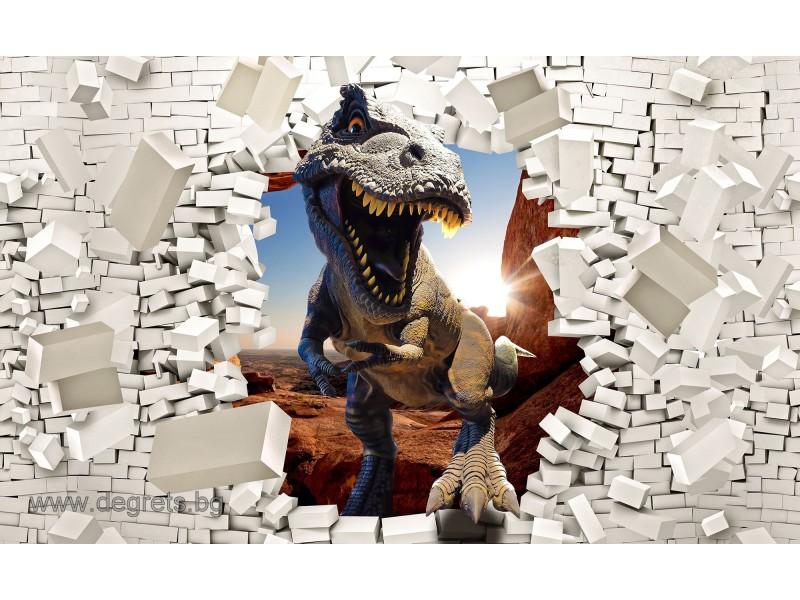 Фототапет Тиранозавър Рекс 1 3D