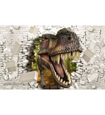 Фототапет Тиранозавър Рекс 2 3D L