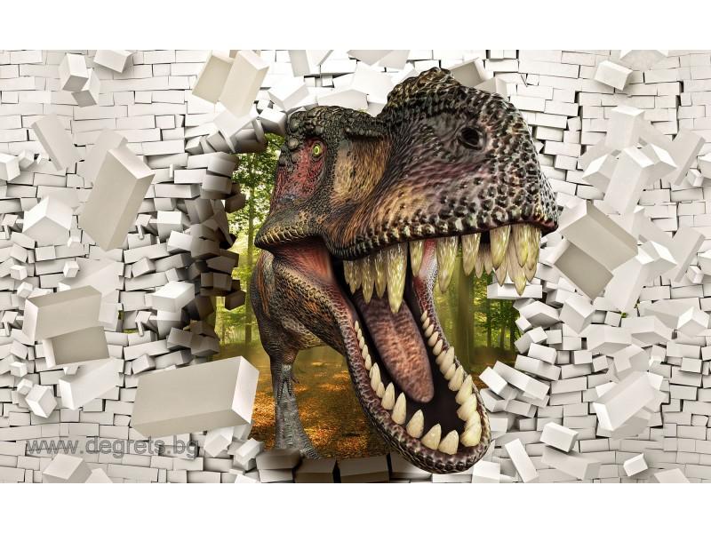 Фототапет Тиранозавър Рекс 2 3D XL