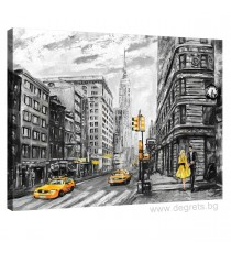 Картина Канава Ню Йорк арт S