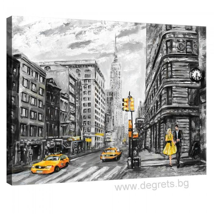 Картина Канава Ню Йорк арт L