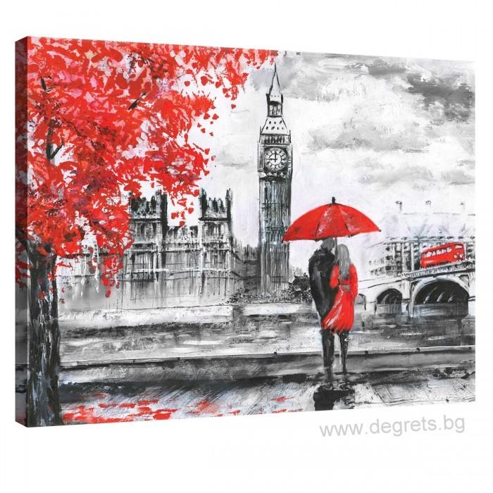 Картина Канава Лондон арт S