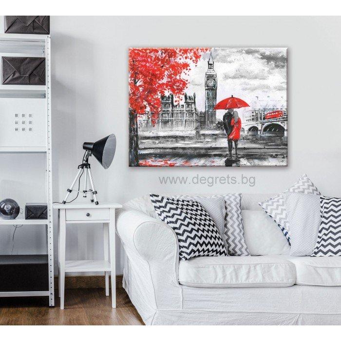 Картина Канава Лондон арт L