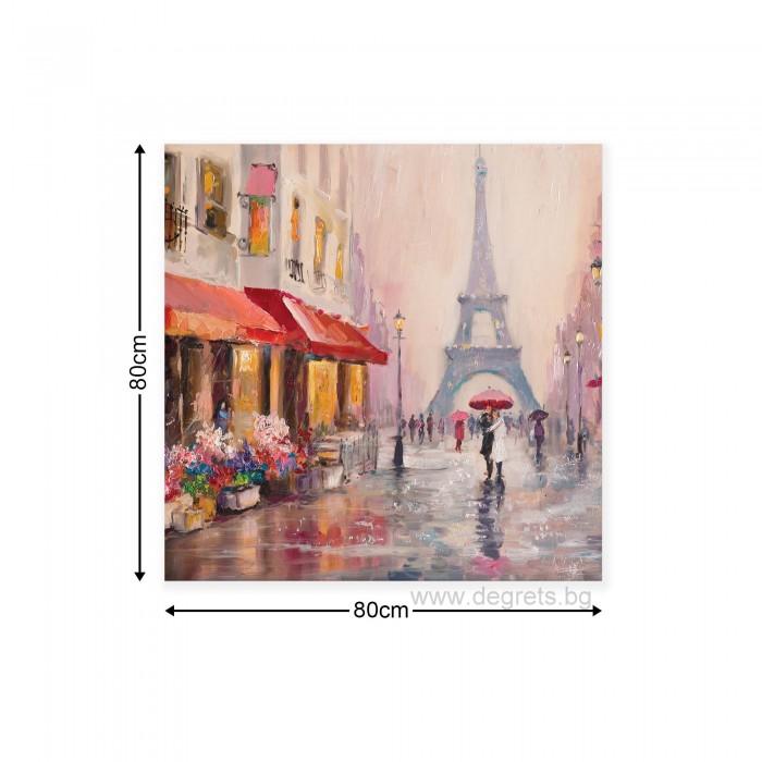 Картина Канава Париж арт 2