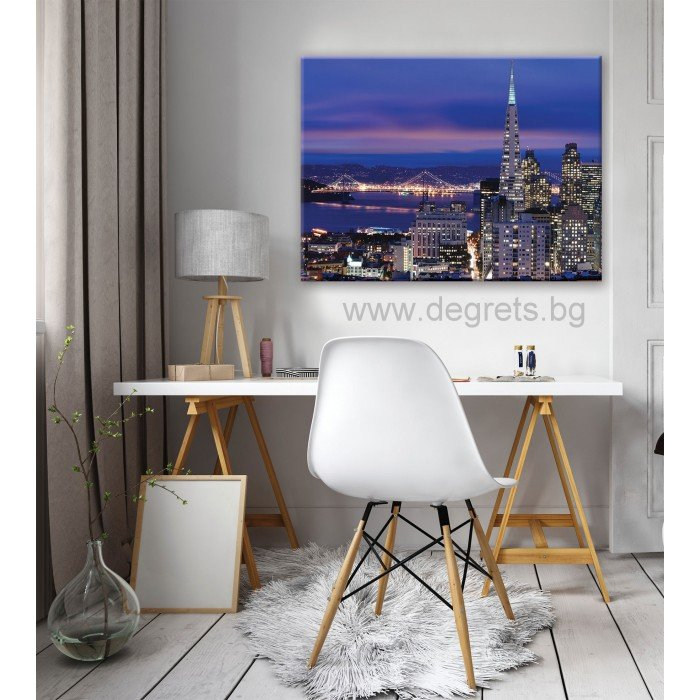 Картина Канава Мегаполис Сан Франциско L