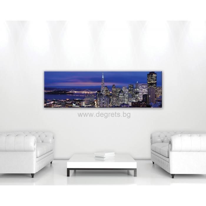 Картина Канава Мегаполис Сан Франциско XL