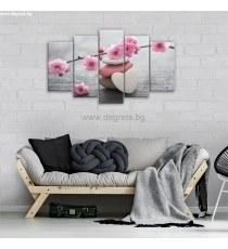 Картина Канава Пролетен цвят 1 Сет 5 части