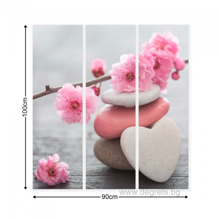 Картина Канава Пролетен цвят 1 Сет 3 части