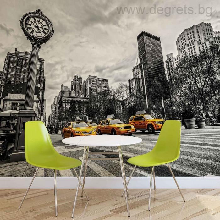 Фототапет Такси в Ню Йорк 2